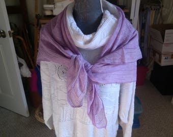 Large Soft Old Lavender Scarf