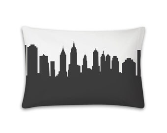 New York City Pillowcase - 30x19 - Skyline Silhouette