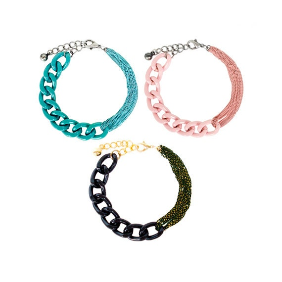 Matching Chain Bracelet