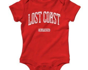 Baby One Piece - Lost Coast California Infant Romper - NB 6m 12m 18m 24m - Baby Shower, Lost Coast Baby, Petrolia, Shelter Cove, Whitethorn