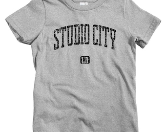 Kids Studio City Los Angeles T-shirt - Baby, Toddler, and Youth Sizes - Kids Tee, Gift for Kids, Studio City Kids, LA Kids, Tv Fan, Film Fan