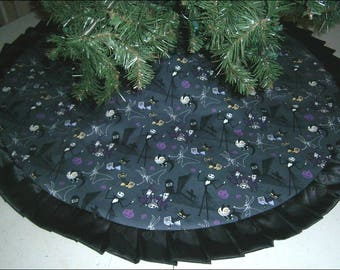 Handmade tree skirt | Etsy