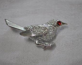 Vintage 1960's Sarah Coventry Bird Brooch made in Canada