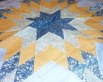 """2 Vintage Hand Made Quilt Pillow Shams..Wall Hanging...24"""" by 32""""...Perfect Condition...Unfinished"""