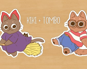 Kiki & Tombo Pack / Kiki's Delivery Service Kitties