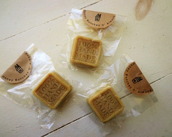 Honey Bunches O' Almond Soap ~1.5oz/ Cold process/ Artisan Bar/ Guest Soap