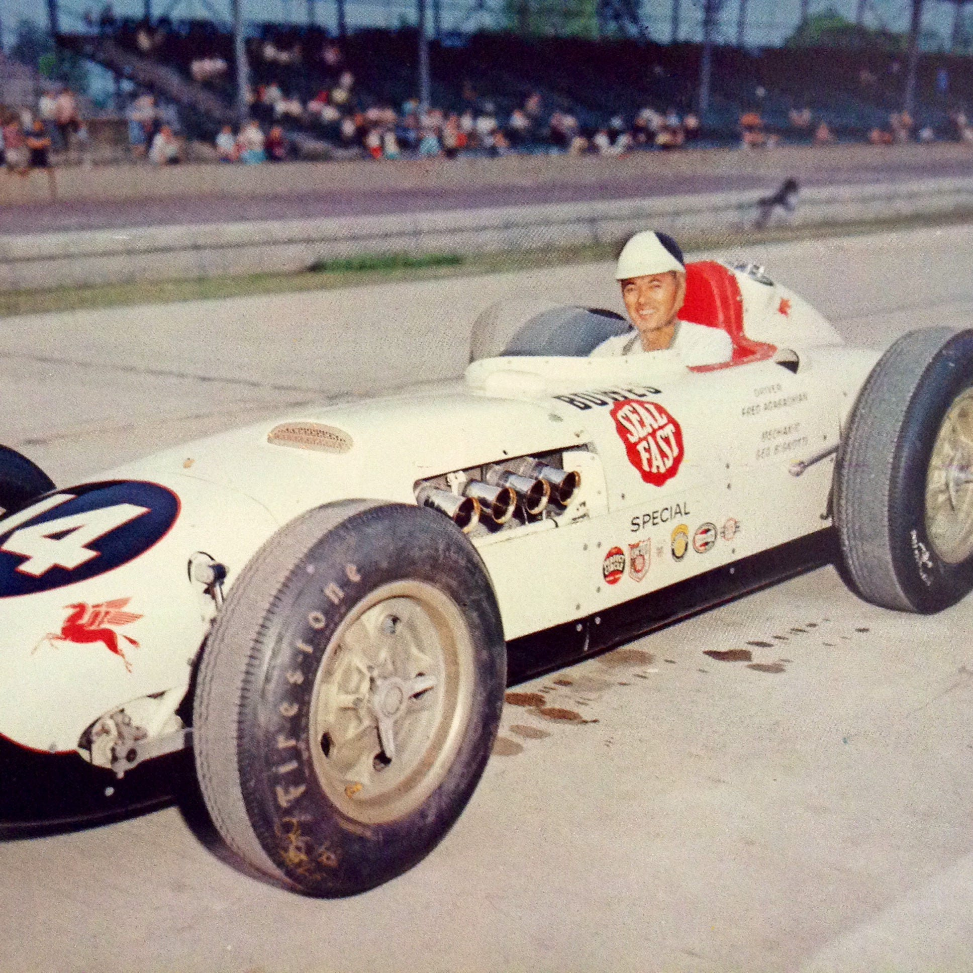 Sofa King Fast Racing: Freddie Agabashian Bowes Seal Fast Special 1957 Indy
