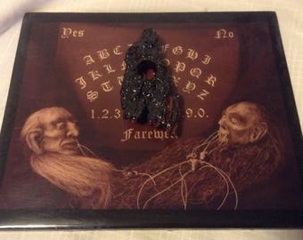 """Miniature Ouija board / Spirit board / """"Ghost Board"""""""
