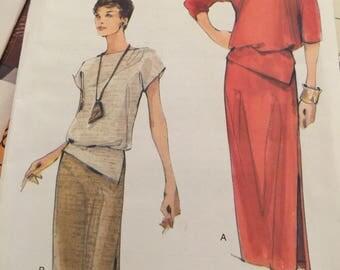 Vogue7056, misses dress, size 14-18