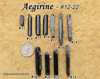 Aegirine natural raw rough stone for crystal healing