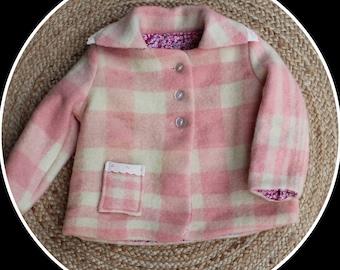 Girls Woollen Jacket Winter Jacket size 2