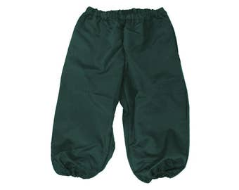 Men's Knicker Pants Renaissance Elf Costume Green