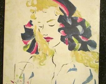 March 1941 BAZAAR Fashion MAGAZINE