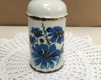 Vintage Midwinter Spring Pattern Salt or Pepper Shaker