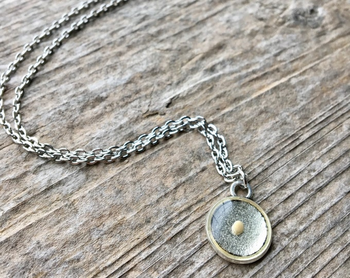 Mustard Seed Faith Necklace In Silver