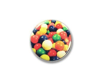 1 Inch Pinback Button Original - Gumballs