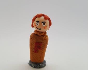 Fred Weasley Handmade Polymer Clay Mini Figure - Harry Potter
