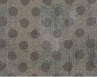 Grunge Hits the Spot - Dots in Grey Couture - Basic Grey for Moda - 30149-33 - 1/2 yard