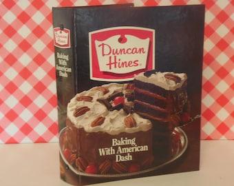 Duncan Hines Cookbook - 3 Ring Binder - Hard Cover