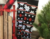 Sweater Snowflake Print Baby Legs / Christmas Leg Warmers