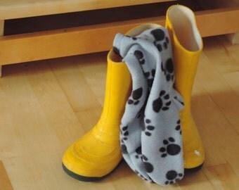 fleece sock boot liner for kids