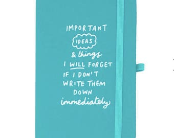 Important Notes Mini Luxe Notebook