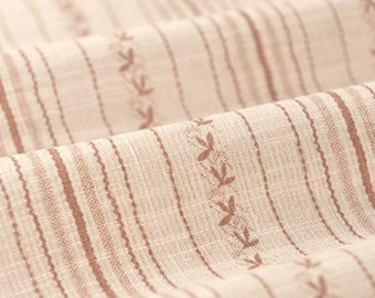 Soft Striped Fabric Sold by Half Meter MJ645