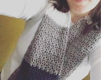 Crochet Pattern // Elizabeth Scarf // Digital Download // Easy // Tutorial