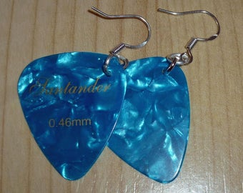 Earrings * Plectrum * 925 silver