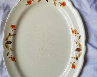 Autumn Leaf Dinnerware Platter..