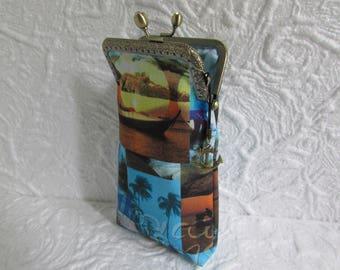 51B - Eyeglass case fabric, sunglass case, cell phone case, wallet, coin purse, ..., handmade