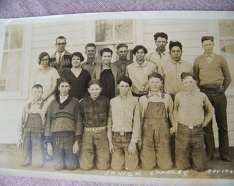 Vintage 1926 Jr. High  School Group Photo  Stanley CO