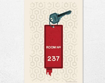 Room No. 237 | 11x17 | Screen Print