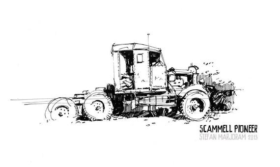 Scammell Pioneer - Limited edition Print