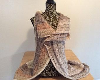 Peek a boo  style sweater vest/cardigan/wrap/woman/junior