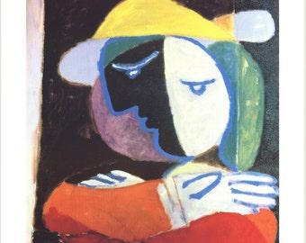 Pablo Picasso-Femme au Balcon-1994 Poster