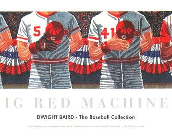 Dwight Baird-Big Red Machines-1994 Poster