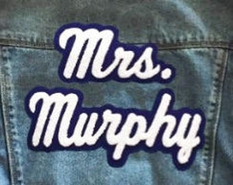 Mrs. patch (listing is for patches only)