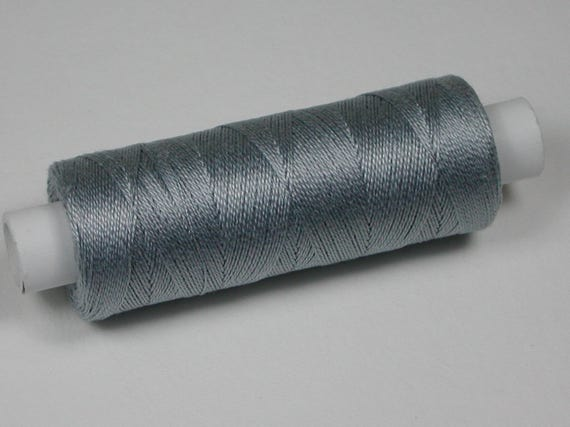 7002 Venne wool, cotton, knitting and crochet yarn for the miniature handmade, colour light grey