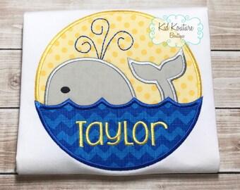 Nautical Whale shirt