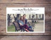 Save the Date Postcard, Save-the-Date Card, Calendar, Photo, DIY Printable, Digital File – Henley