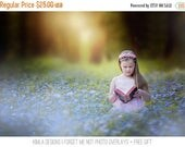 ON SALE Forget me not Photo Overlays + Free Gift