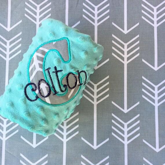 Custom Personalized Baby Blanket - Arrows