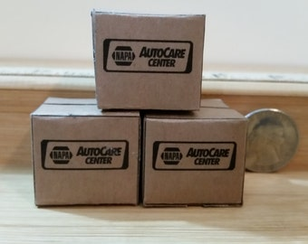 G-6   Miniature garage cases for garages,  set of 3  they DO NOT OPEN