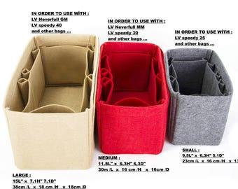 PROMOTIONAL SALE - Bag shaper Purse insert organizer bag insert with Ipad place / Color Option  available