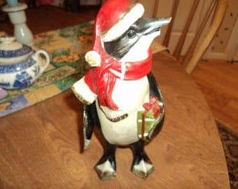 Penguin with attitude for Christmas