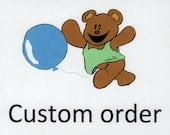 Custom order for Cathleen.  Golf cart seat cover.