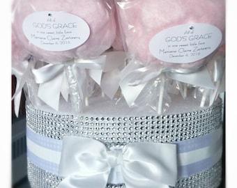 Cotton Candy Pops (dozen)