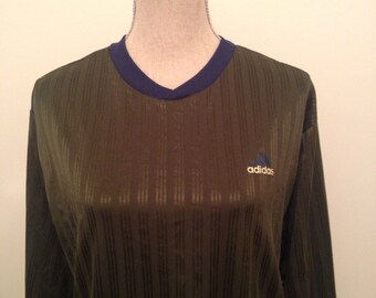 Vintage Adidas Soccer Goalie Jersey early 90s