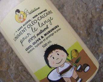 Coconut, olive oil and murumuru butter baby cleansing milk 500 mL